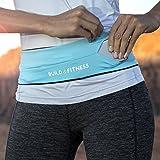 Ceinture de course à pied et clip pour ceinture Fitness Ceinture à rabat, avec clé, compatible avec IPhone 6& 7Plus, unisexe, convient pour Gym, d'exercice, cyclisme, Randonnée, jogging, yoga, Sport, Voyage et Activités en extérieur