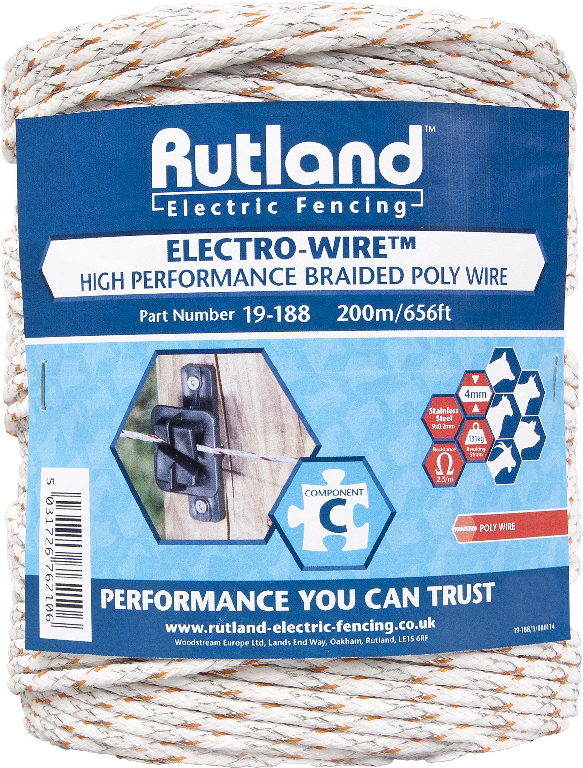 Rutland Maxi Plus Braided Elektrodraht 19–188R 200 M