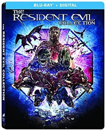 68ec16677 Resident Evil The Complete Collection Steelbook Blu-ray Bilingual:  Amazon.ca: DVD