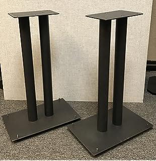 Steel Fill Able 24 Speaker Stands For Medium To Large Bookshelf Speakers By Vega