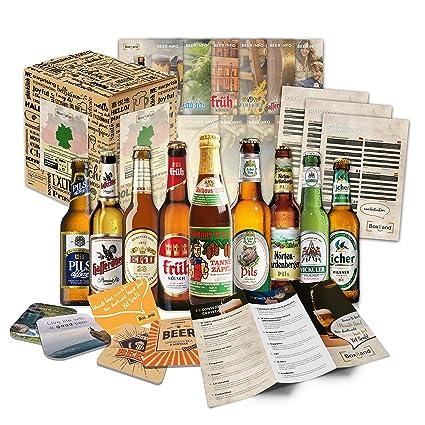 Deutsche Bierspezialitäten   Männergeschenke Als Geburstagsgeschenkidee,  Geschenke Zum 18 Geburtstag, Geschenke Zum 30 Geburtstag Oder Lustige  Geschenke Für ...
