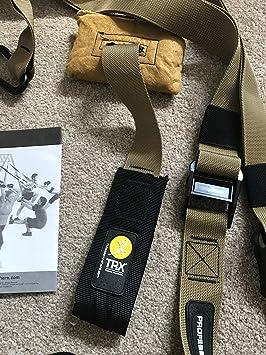 TRX Force - Juego de Accesorios para Entrenamiento, Color marrón y Negro
