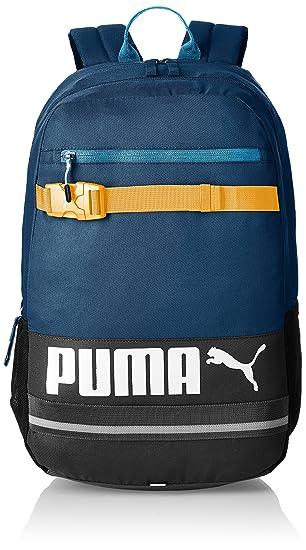 a9290e0305303 Puma Deck Backpack Rucksack mit Laptopfach 50 cm blue wing teal
