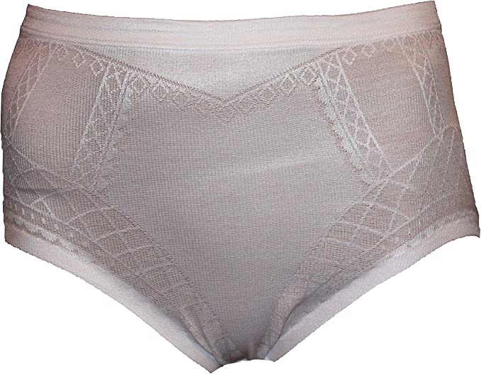 NEW M/&S COTTON RICH WHITE KNICKERS WHITE FIRM CONTROL SHAPEWEAR FULL BRIEFS