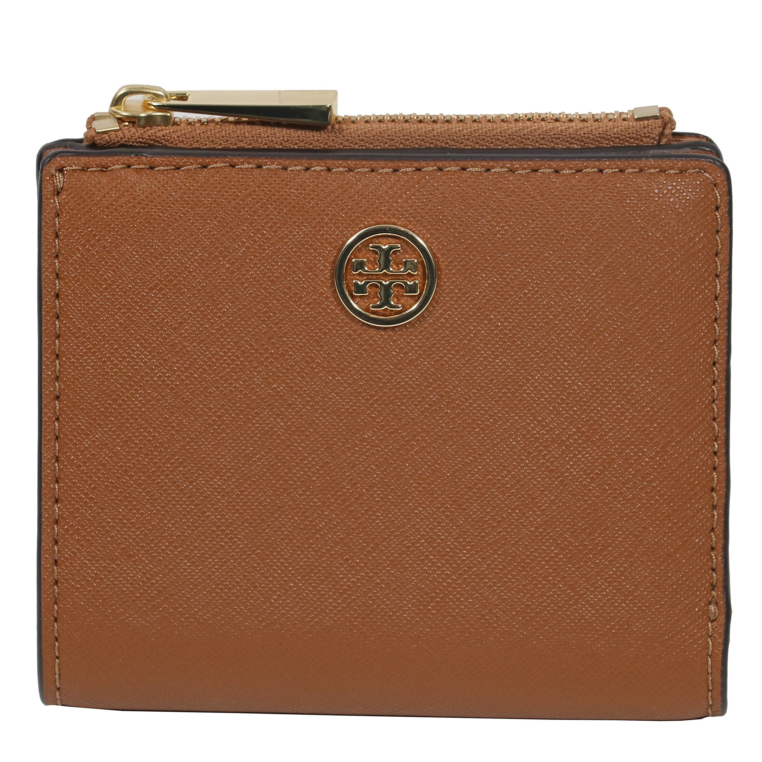Tory Burch Card Case Wallet Robinson Mini Leather