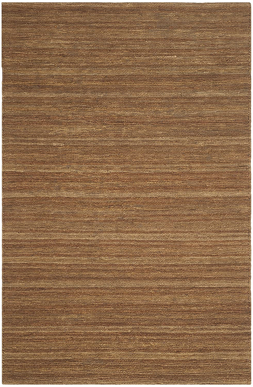 Safavieh Organic Collection ORG114A Natural and Gold Jute Rug 2/' x 3/'