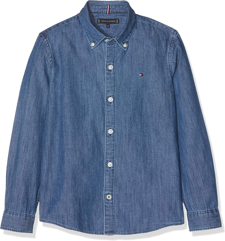 Tommy Hilfiger Denim Shirt L//S Camicia Bambino