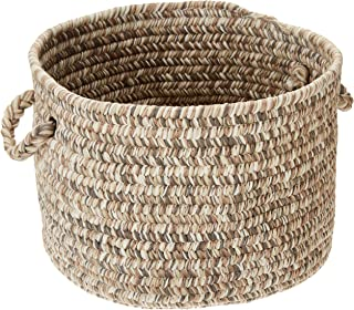 product image for Colonial Mills Corsica Utility Basket, 18 by 12-Inch, Storm Gray