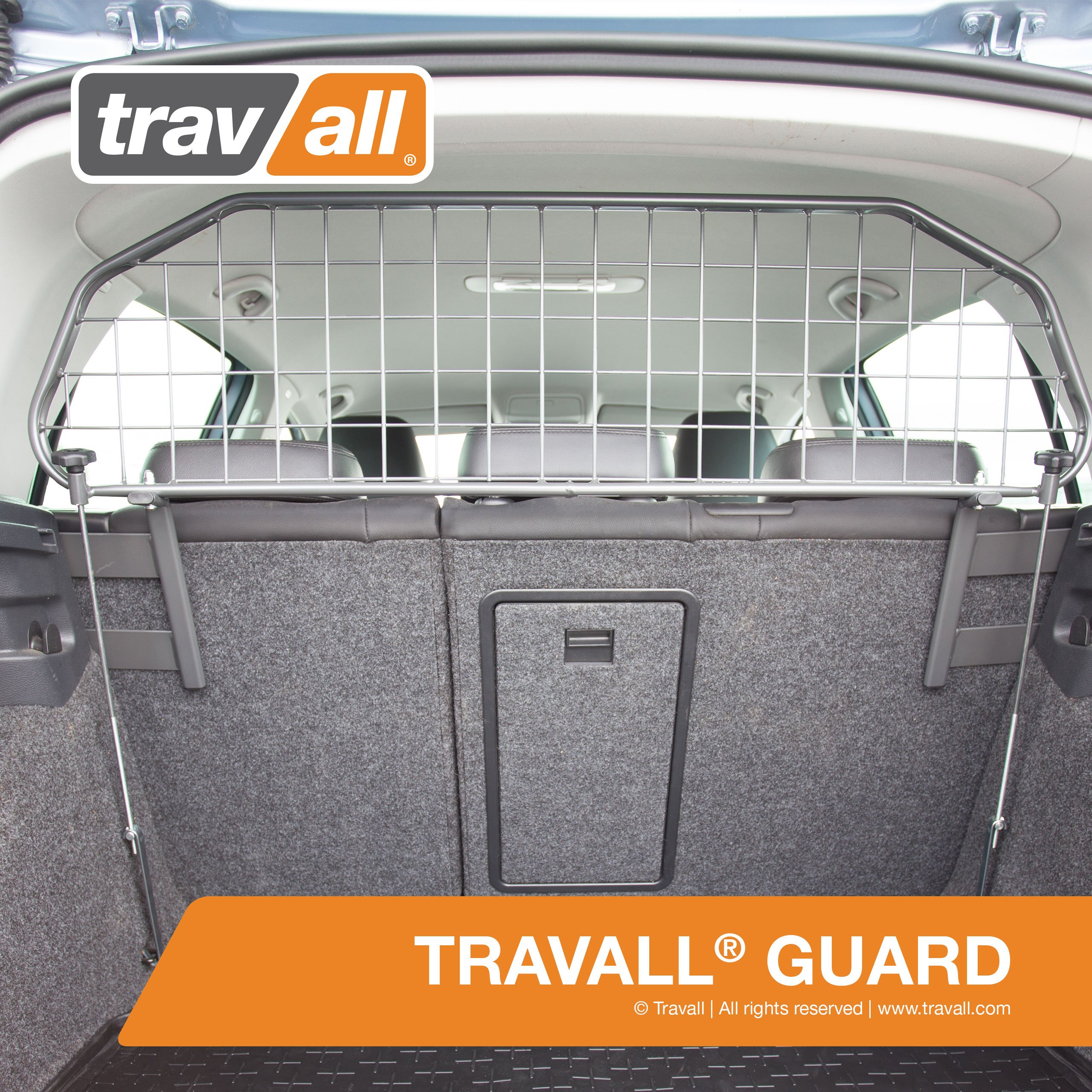 Travall Guard for VOLKSWAGEN Golf Hatchback (2003-2012) Also for Rabbit Hatchback (2006-2008) TDG1355 - Removable Steel Pet Barrier