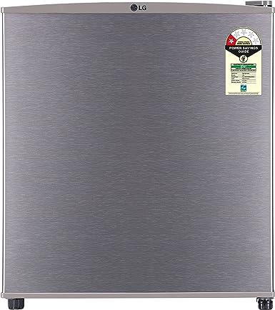 LG 45 L 1 Star Direct Cool Single Door Refrigerator(GL-B051RDSU.DDSZPST, Dazzle Steel)