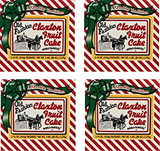 product image for Fruit Cake 5 Dark Recipe Claxton Fruitcakes (pack of 4 1 Lb)