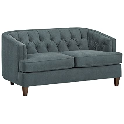 Stone U0026 Beam Leila Tufted Sofa, 69u0026quot; W, Smoky Teal