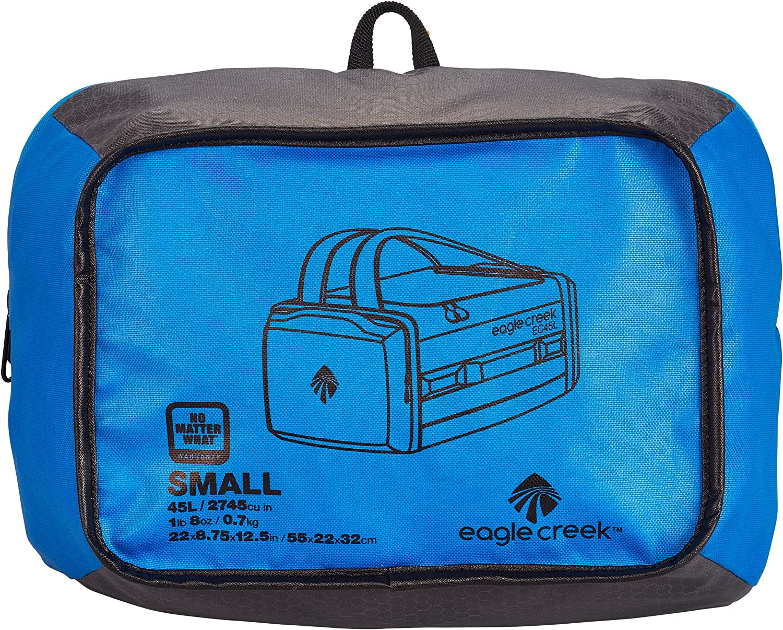 S Eagle Creek Ultra-Light Luggage Cargo Hauler Duffel 58 cm 45 L Blue Sac de Voyage Blue//Asphalt liters Bleu