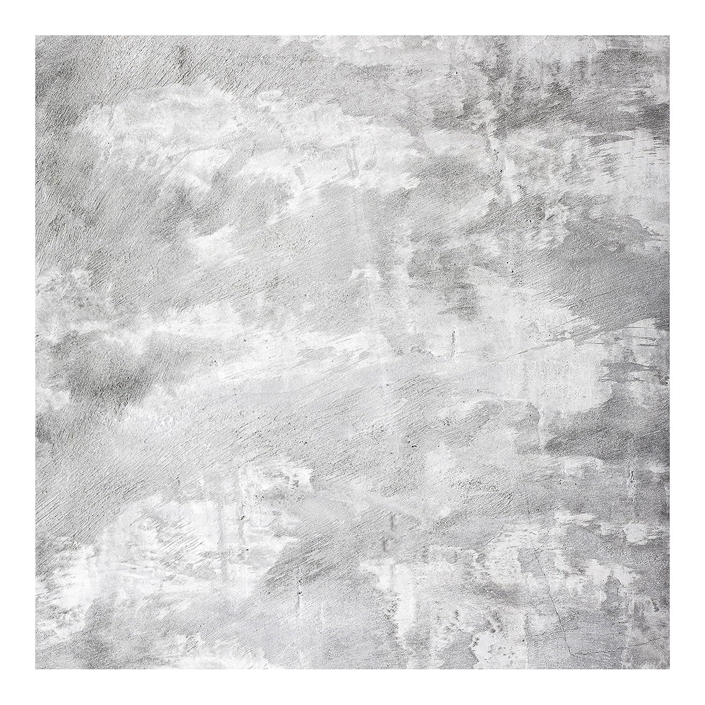Industrie-look Betonoptik Tapete - Vliestapete Quadrat, Größe HxB 240cm x 240cm