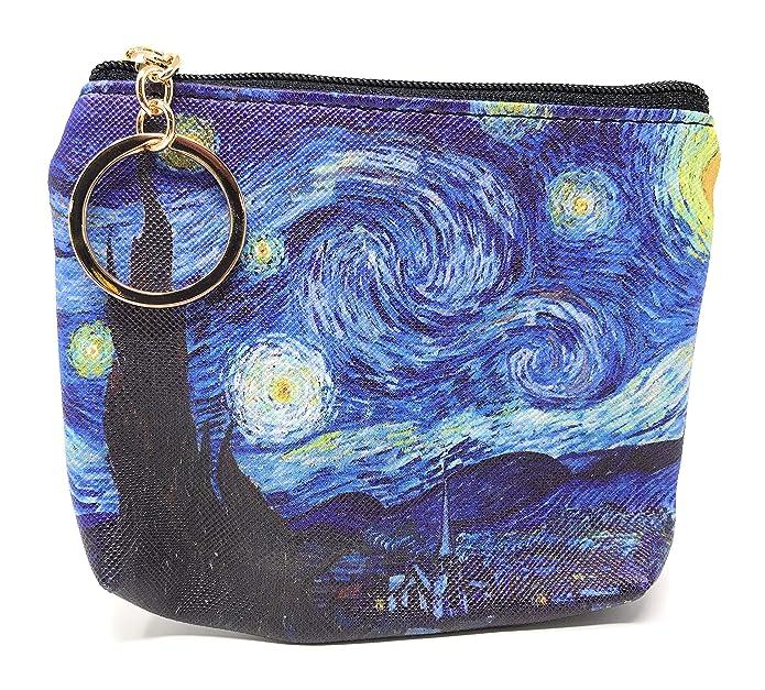 Amazon.com: Value Arts Van Gogh - Monedero con llavero: Shoes