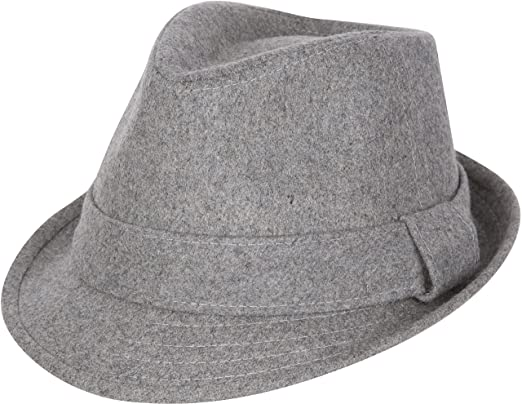 1960s Style Men's Hats | 60s Men's Hats & Caps Sakkas Original Unisex Structured Wool Fedora Hat $17.95 AT vintagedancer.com