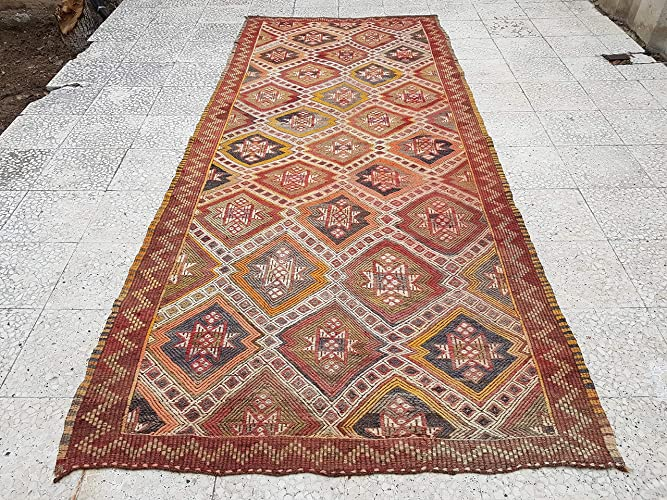 Amazon Com Anatolian Kilim Rug Tribal Morroccan Carpet For