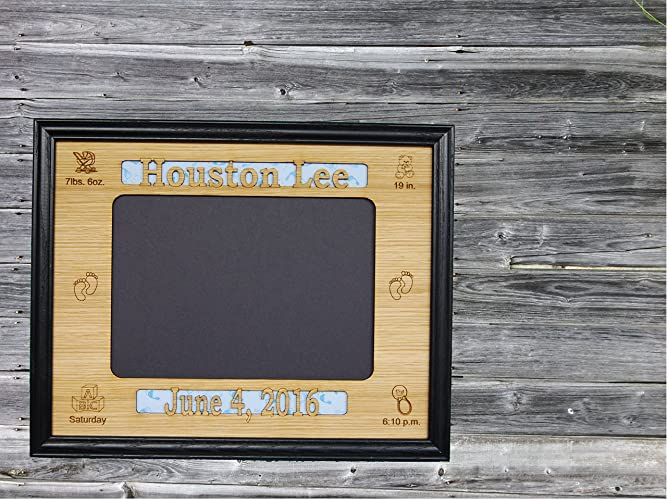 Baby Shower Gifts Keepsakes ~ Amazon.com: 8x10 personalized baby stat picture frame newborn gift