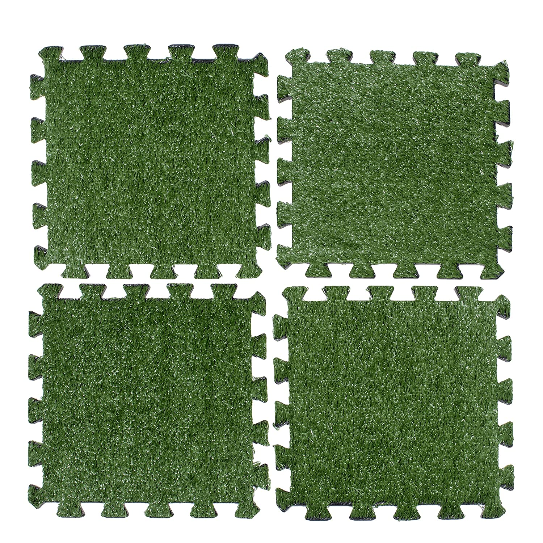 Amazon best sellers best wood composite decking above edge interlocking grass deck tiles square artificial grass carpet for gardens backyards outdoor baanklon Image collections