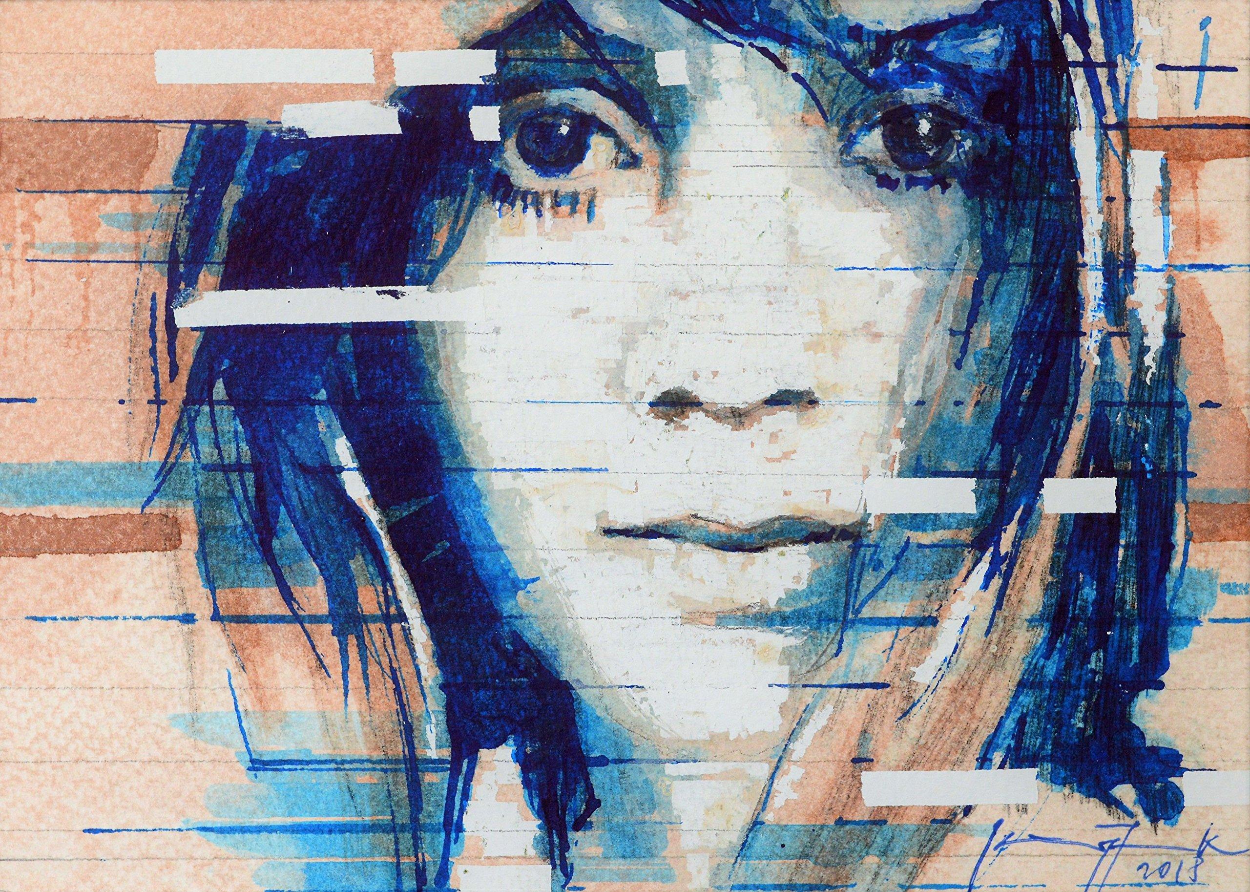 Interpretation I Girl with Big Eyes by