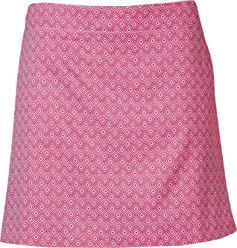 Lady Hagen Womens Essentials Printed Golf Skort, (Rose Violet, ...