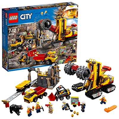 LEGO City Mining Experts Site 60188 Building Kit (883 Piece): Toys & Games