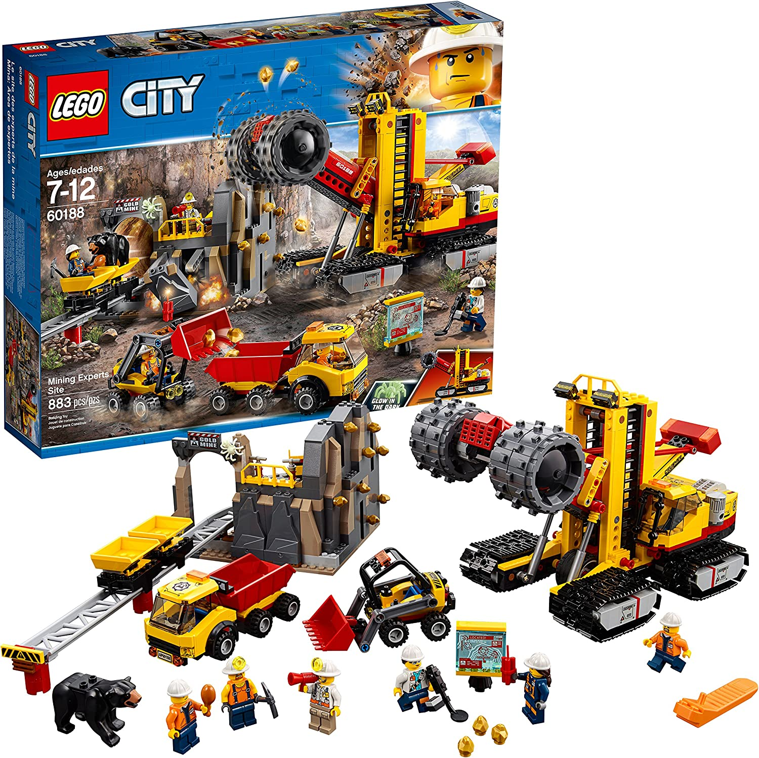 LEGO City Mining Experts Site 60188 Building Kit (883 Piece)