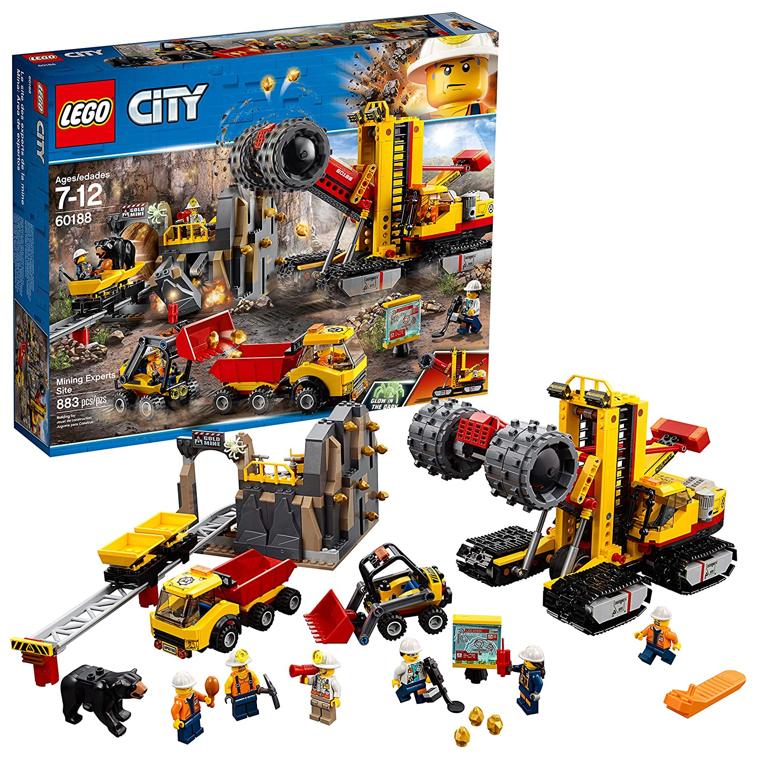 LEGO City Mining Experts Site.