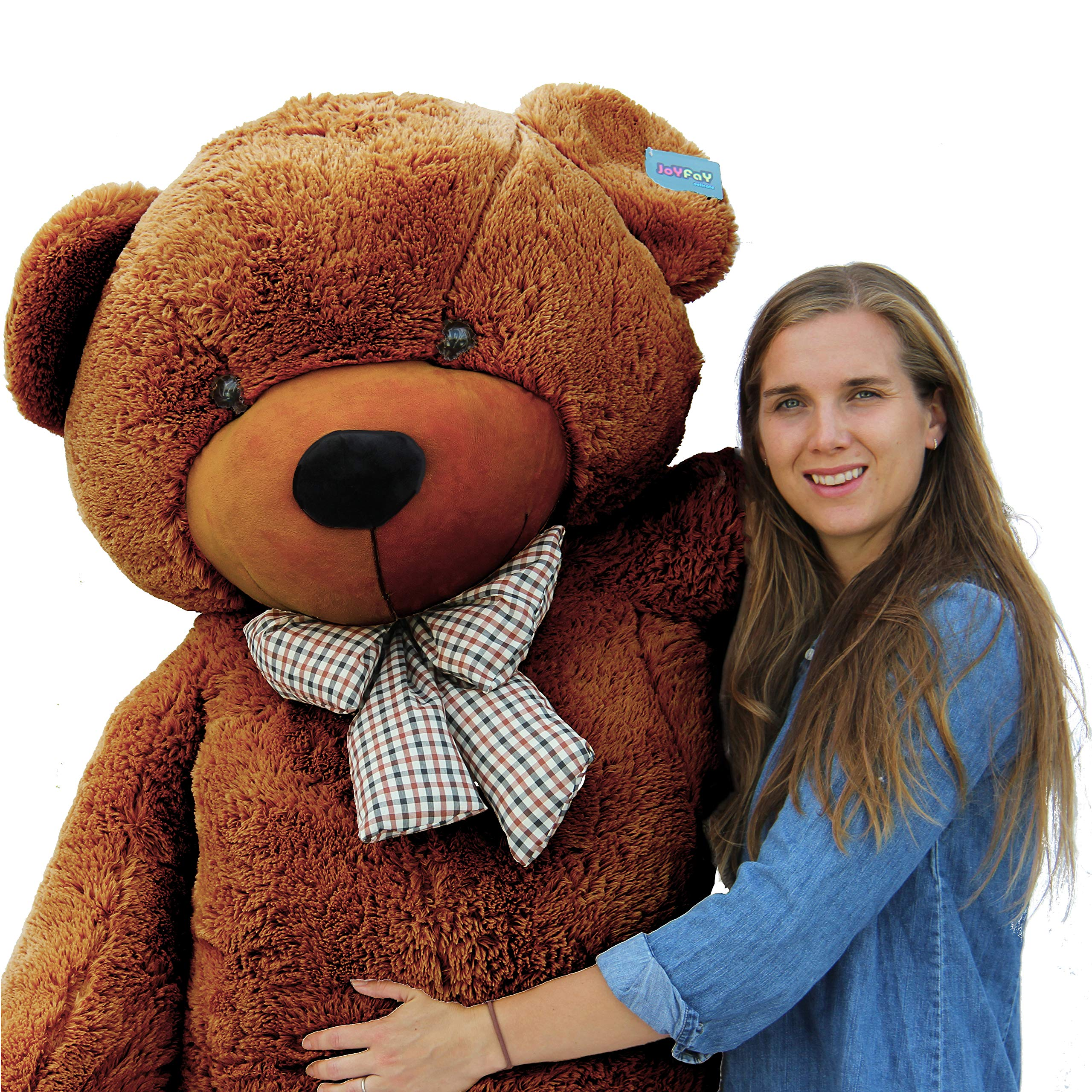 Joyfay 78'' Giant Teddy Bear Dark Brown Valentine's Gift by Joyfay