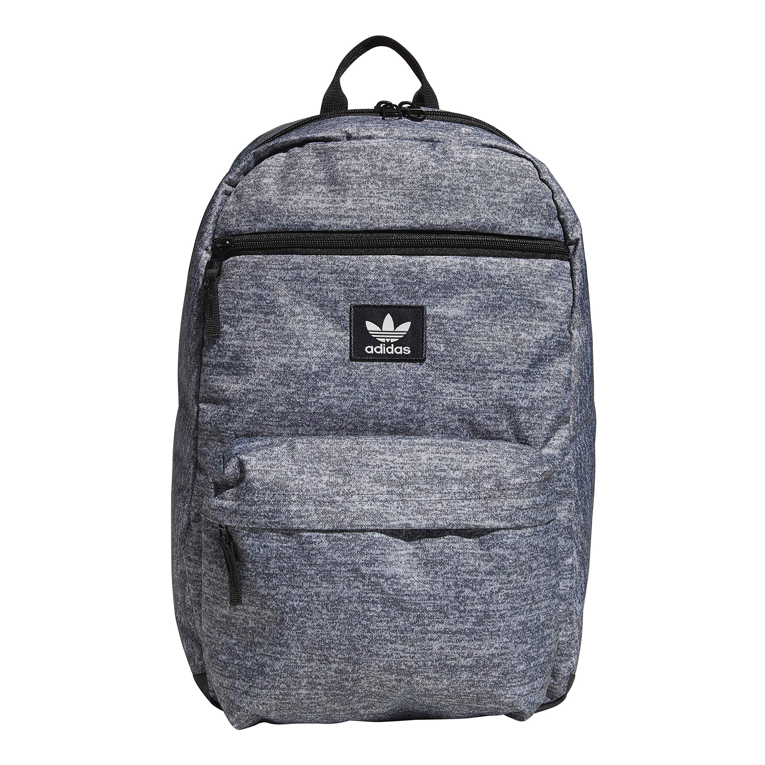 adidas Originals Unisex National Backpack, Onix Jersey/Black, ONE SIZE by adidas