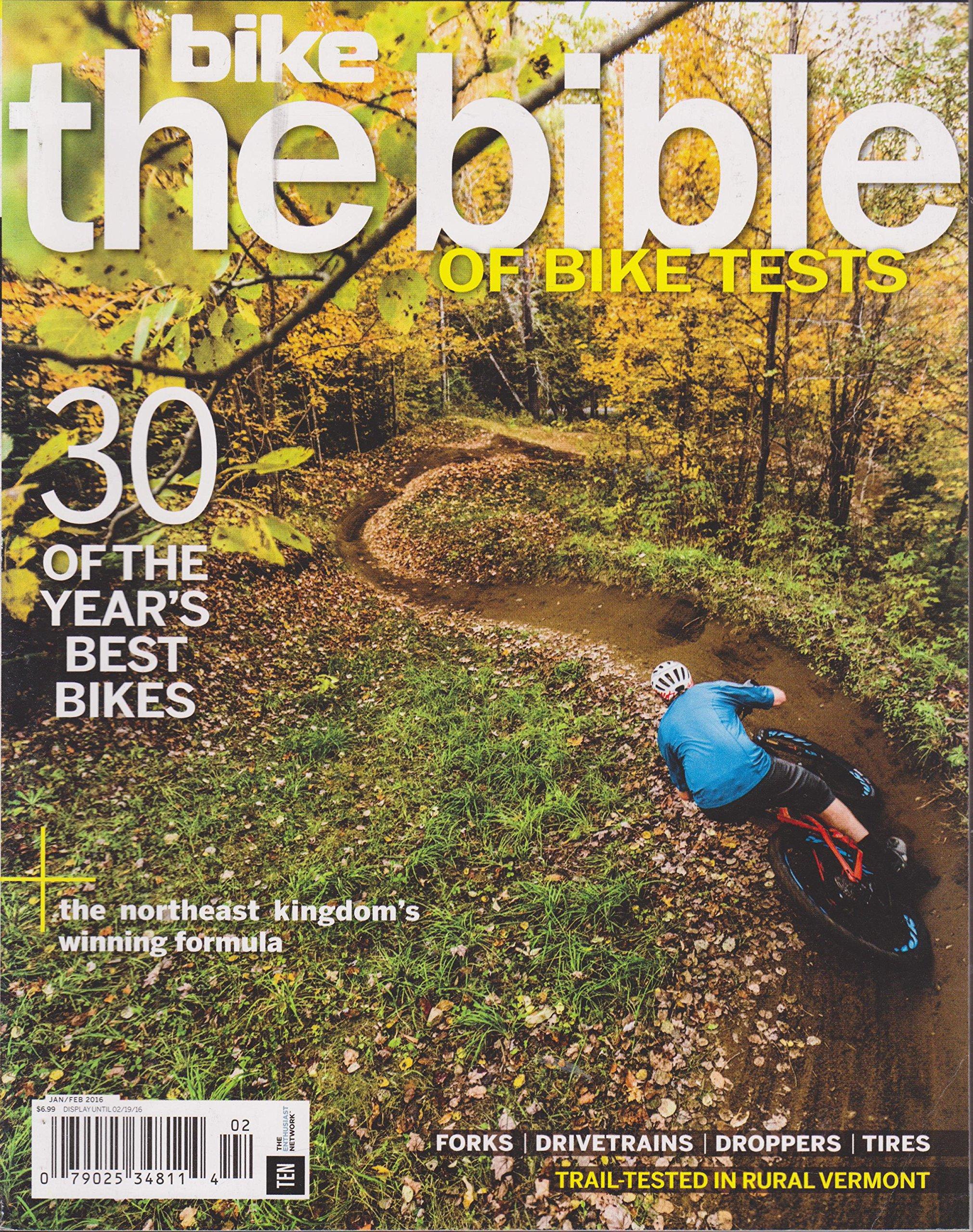 Download Bike Magazine The Bible of Test Bikes Magazine January/February 2016 pdf