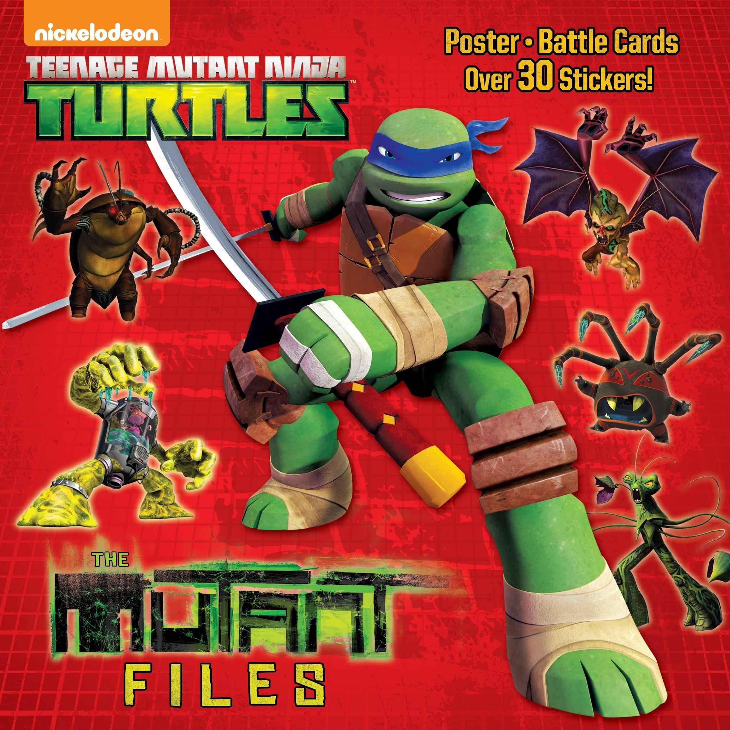 The Mutant Files (Teenage Mutant Ninja Turtles) (Pictureback ...