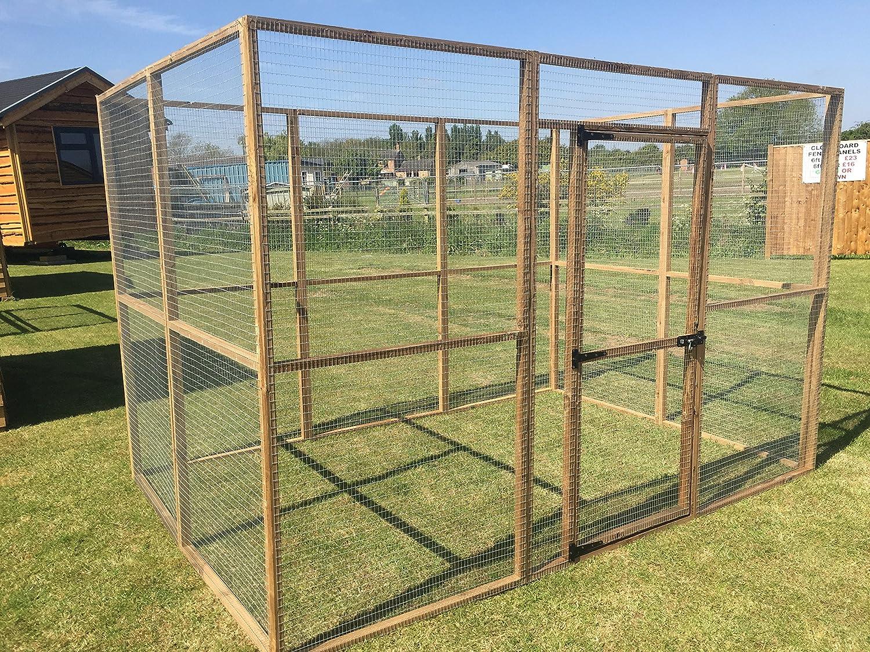 4wire Large 6ft x 9ft Animal Run Dog Rabbit Chicken Enclosure