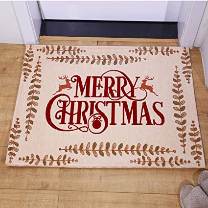 Amazon Com Amida Merry Christmas Gift Doormats With Words And