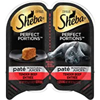 Sheba Wet Food Sheba Perfect Portions Pate Wet Cat Food Trays