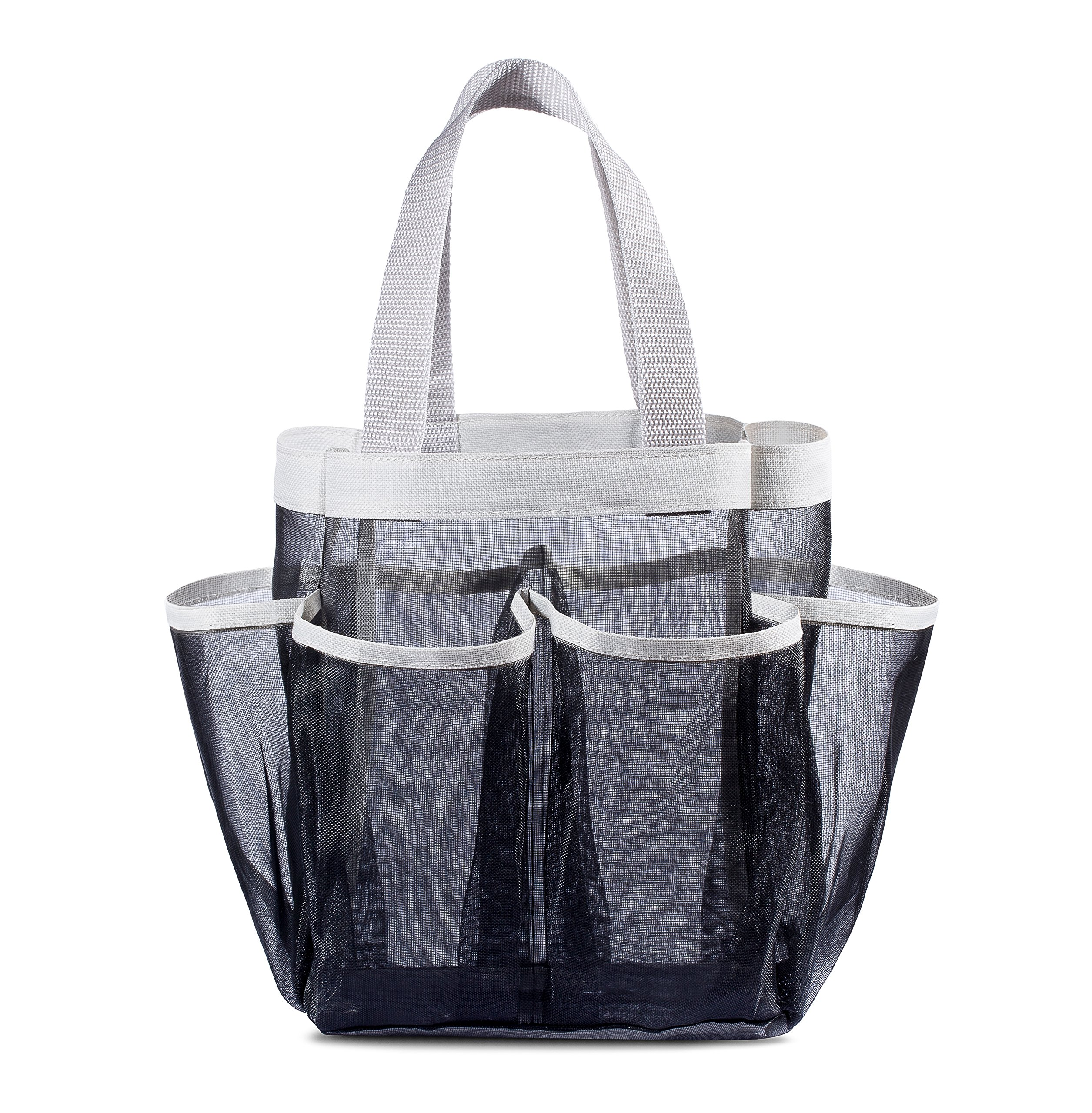 Shower Bathroom Organizer Mesh Waterproof Quick Dry 7-pocket Tote ...