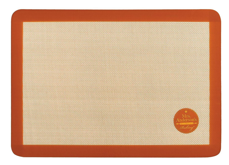 Mrs. Anderson's Baking Non-Stick Silicone Big Baking Mat, 20.5-Inches x 14.5-Inches Mrs. Anderson's Baking 60011