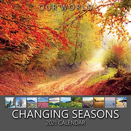 Our World: Changing Seasons 2021 Calendrier mural Motif saisons
