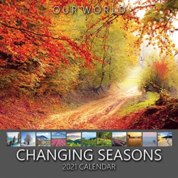 Amazon.: Our World: Changing Seasons 2021 Seasons Nature Wall