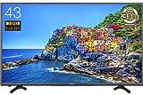 ハイセンス 43V型 液晶 テレビ  HJ43K3120 フルハイビジョン 外付けHDD録画対応 裏番組録画 メーカー3年保証