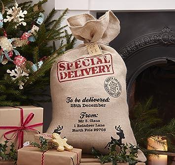 Weihnachtsgeschenke Sack.Amazon De Hessische Sankt Sack Für Weihnachtsgeschenke Vintage Noel