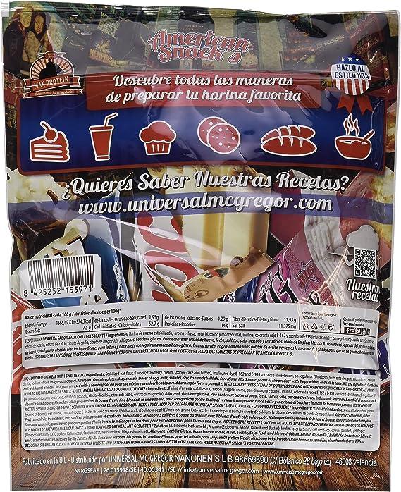 Max Protein American Snacks Harina de Avena con Sabores - 2000 gr ...