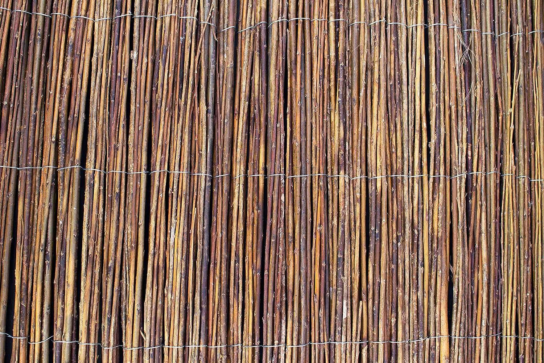 Amazon Weide Sichtschutzmatte CAMERON braun 300cmx100cm
