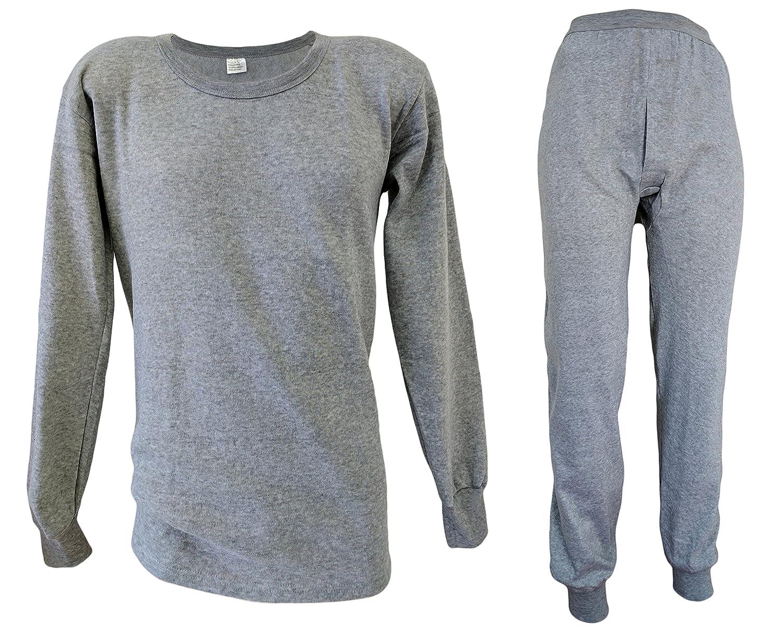 Funktions- Thermo- und Sport- Unterwäsche für Herren schwere Qualität - Lange Unterhose + Langarm Shirt