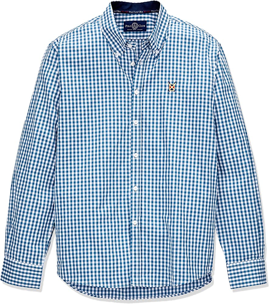 POLO CLUB Camisa Hombre Gentle Sticks Trend Azul 3XL: Amazon.es ...