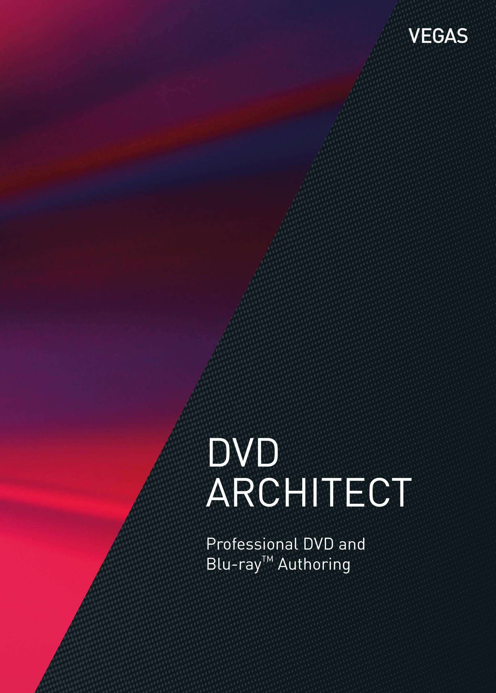 VEGAS DVD Architect [Download]