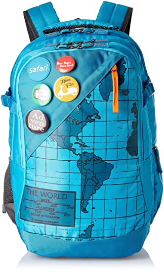 Safari 42 ltrs blue laptop backpack atlas blue amazon bags safari 42 ltrs blue laptop backpack atlas blue gumiabroncs Image collections