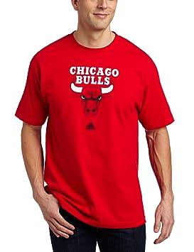 Adidas NBA Chicago Bulls - Camiseta de Manga Corta, NBA, Hombre, Color Rojo, tamaño XX-Large: Amazon.es: Deportes y aire libre