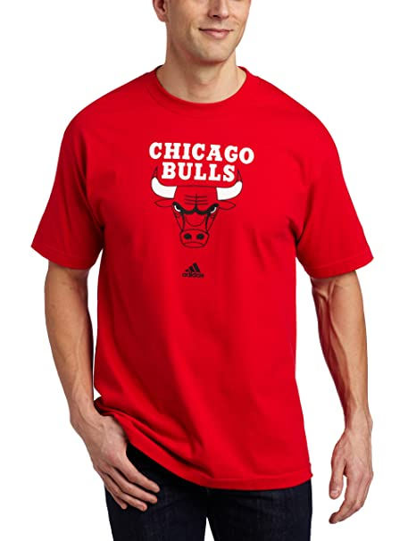 timeless design a4252 a2a2c adidas NBA Chicago Bulls Short Sleeve T-Shirt