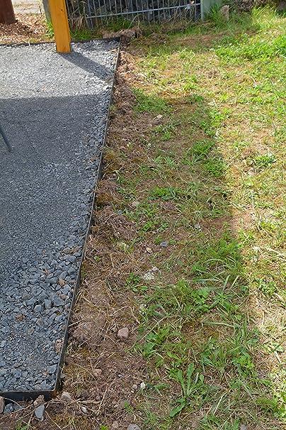 Rasenkanten Cortenstahl 195 Cm X 15 Cm 6er Set Amazonde Garten